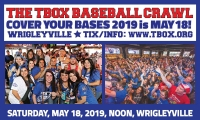Cover Your Bases 2019, The TBOX Baseball Bar Crawl