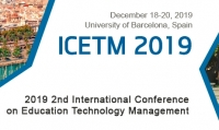 2019 2nd International Conference on Education Technology Management (ICETM 2019)
