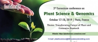 3rd Euroscicon conference on Plant Science & Genomics