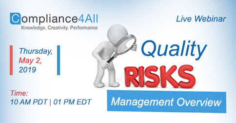 Quality Risk Management Overview 2019, Fremont, California, United States