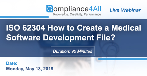 How to Create a Medical Software Development File - ISO 62304, Fremont, California, United States