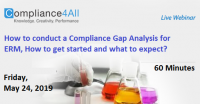 How to conduct a Compliance Gap Analysis for ERM