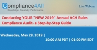 Annual ACH Rules Compliance Audit- a Step-by-Step Guide