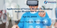 Live Webinar Applications of Virtual Reality Technology in the Healthcare Industry by Valerie McCleary