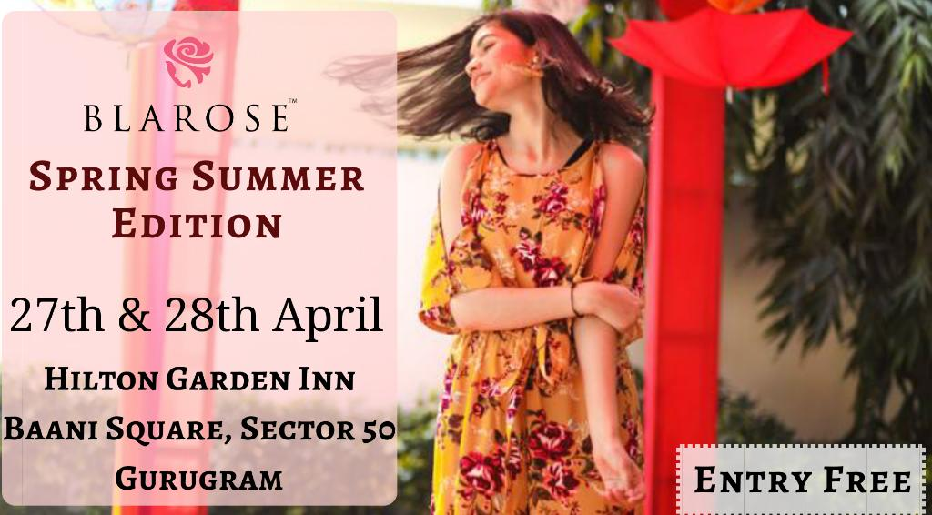 Blarose Spring Summer Edition, Gurgaon, Haryana, India