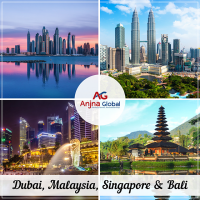 DMC of Dubai, Singapore, Malaysia and Bali - AnjnaGlobal