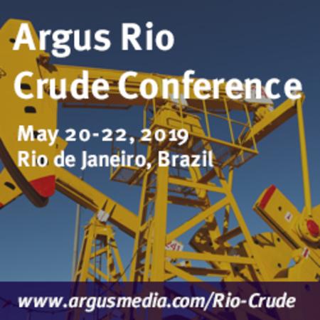 Argus Rio Crude Conference, Leblon, Rio de Janeiro, Brazil