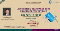 Accounting Standards Best Practices for Payroll