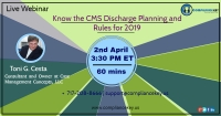 Know the CMS Discharge Planning and Rules for 2019