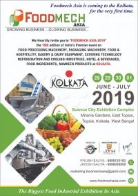 FOODMECH ASIA EXHIBITION -KOLKATA 2019