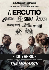 Camden Rocks All Dayer feat. Mercutio and more at The Monarch