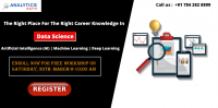 Attend Free Workshop On Data Science Training To Know Benefits Of Career In Analytics By Analytics Path On 30th March, 10 AM, Hyderabad