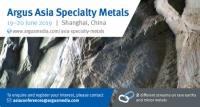 Argus Asia Specialty Metals 2019