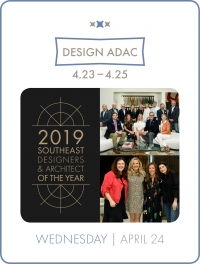 Southeast Designers & Architect of the Year Awards Finalists Celebration at DESIGN ADAC