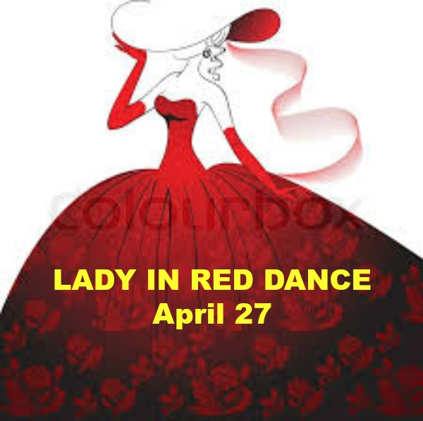 Lady in Red Singles Dance Party, San Mateo, California, United States