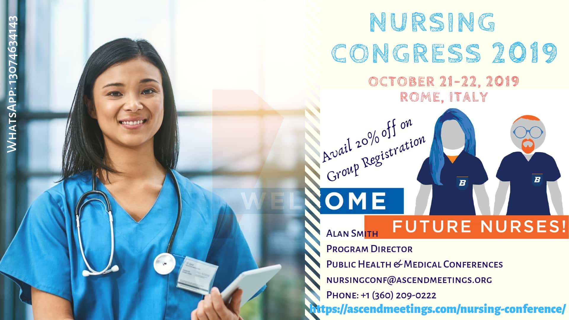 Intercontinental Conference on Nursing Practice, Education and Administration (ICNPEA2019), Vancouver, Lazio, Italy