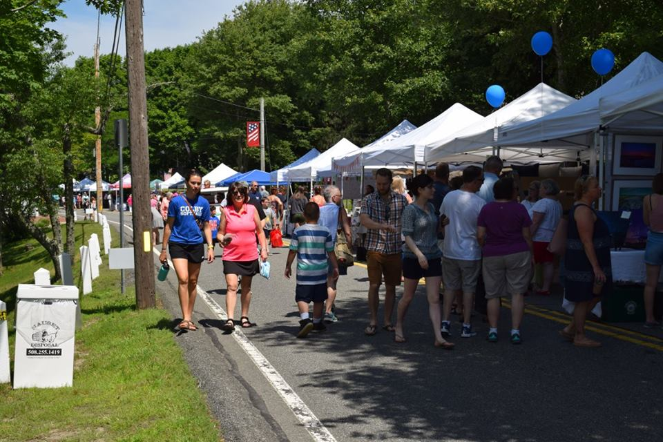 11th Annual SandwichFest street party, Barnstable, Massachusetts, United States