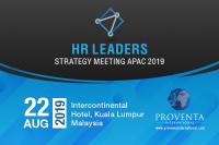 HR Leaders Strategy Meeting Malaysia 2019 | Proventa International