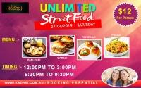 Unlimited Street Food Apr-2018 @ Kadhai Indian Cuisine