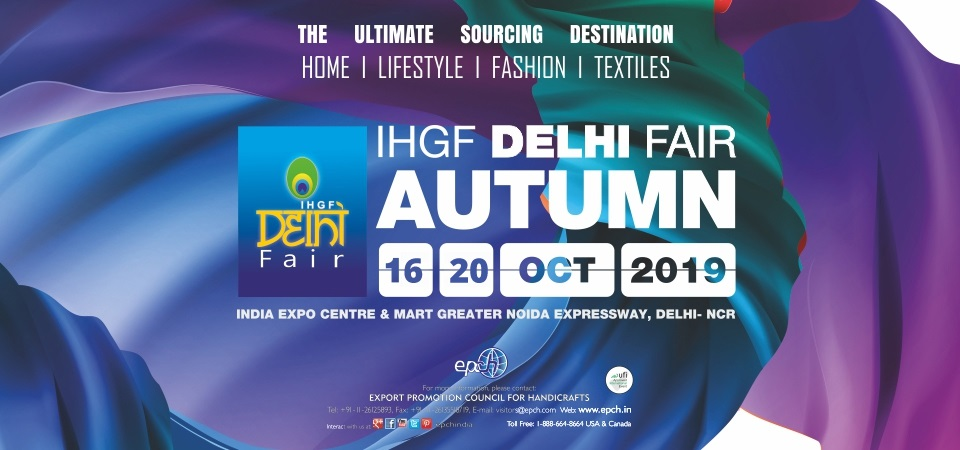 IHGF Delhi Fair Autumn 2019, Gautam Buddh Nagar, Uttar Pradesh, India