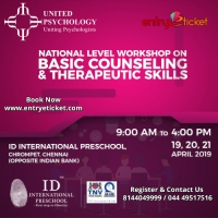 National Level Workshop on Basic Counseling and Therapeutic skills  - Entryeticket