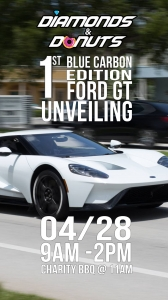 Diamonds & Donuts Ford GT edition
