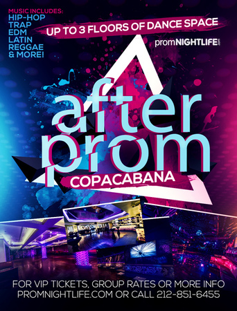 Copacabana After Prom Times Square Events, New York, United States