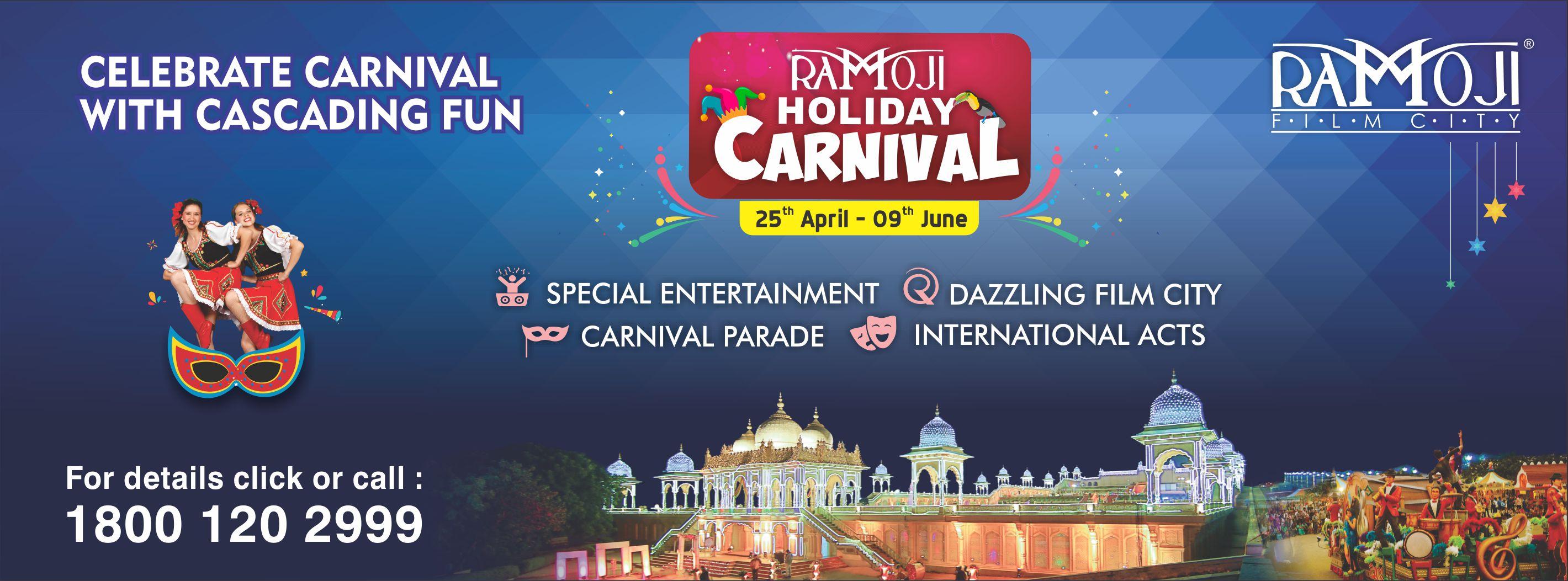 Ramoji Film City Holiday Carnival Celebrations 2019, Hyderabad, Telangana, India