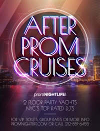 After Prom Cruises in New York City - Prom After Party Yacht Cruise