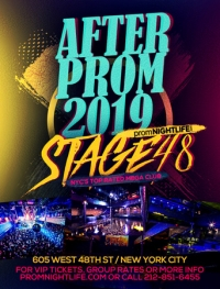 Stage 48 After Prom New York City Nightclub