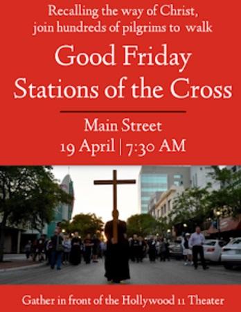 Good Friday Stations of the Cross - Sarasota Main Street, Sarasota, Florida, United States