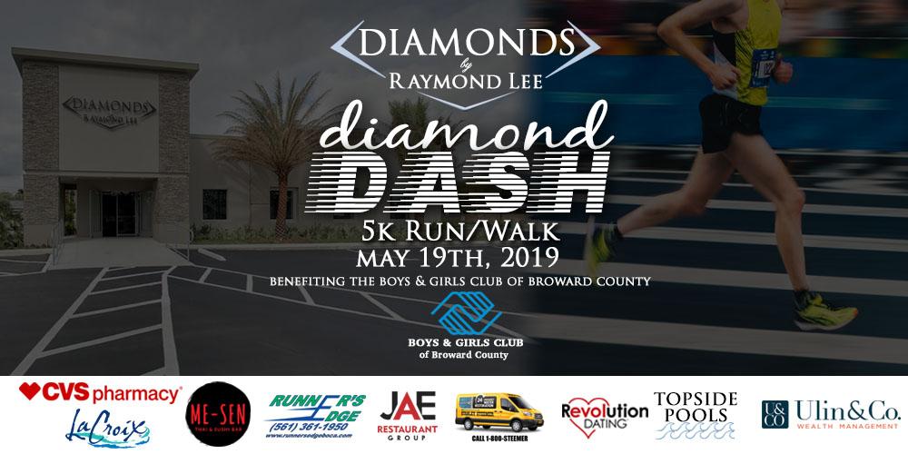 5K Walk/Run Diamond Dash, Palm Beach, Florida, United States