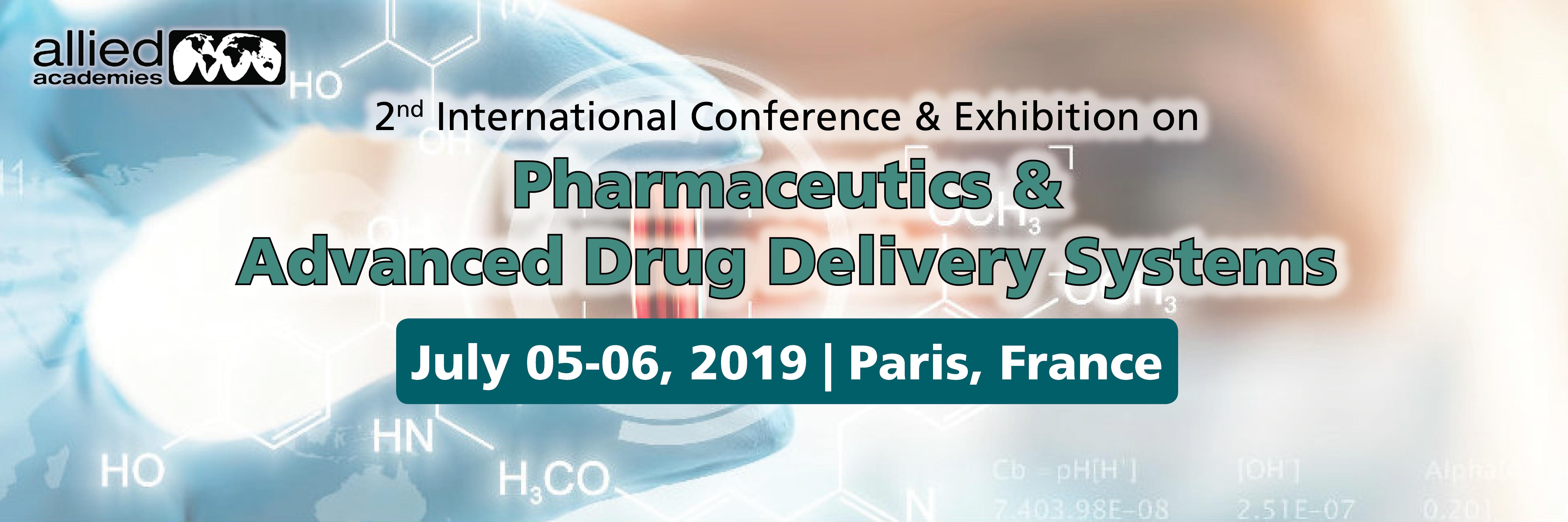 2nd World Pharma Congress 2019, Paris, France