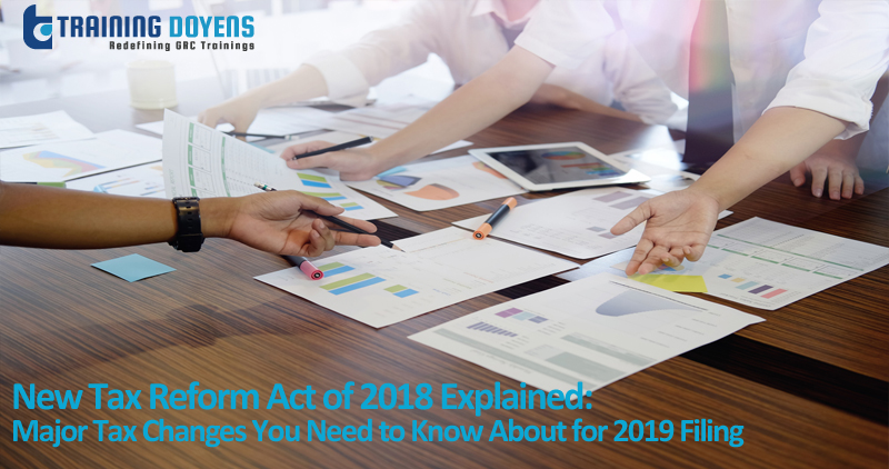 New Tax Reform Act of 2018 Explained: Major Tax Changes You Need to Know About for 2019 Filing, Aurora, Colorado, United States