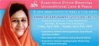 Amma Sri Karunamayi Visits Dallas, TX - Evening Discourse - Free Program