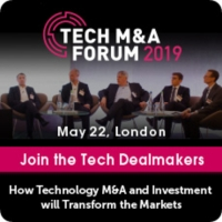 Tech MandA Forum 2019 in London - May