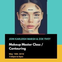 Makeup Some Fun - Contouring and Makeup workshop at the Heathcote and Star