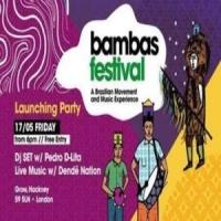 Bambas Festival Launch // Live Brazilian Music