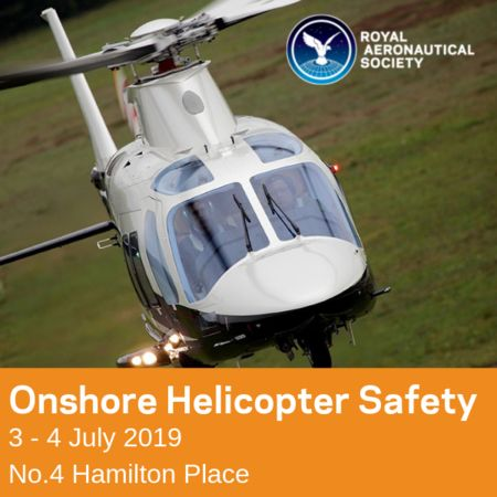 Onshore Helicopter Safety in London - 3/4 July 2019, London, United Kingdom