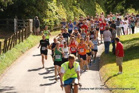 The 2019 Canterbury Half Marathon, Canterbury, Kent, United Kingdom