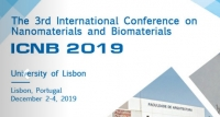 2019 The 3rd International Conference on Nanomaterials and Biomaterials (ICNB 2019)