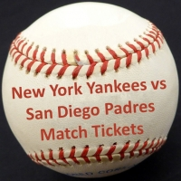 New York Yankees vs San Diego Padres Match Tickets
