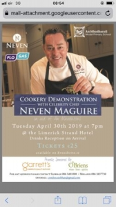 Cooking Demonstration with Neven Maguire in aid of An Mhodhscoil
