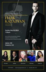 A San Francisco Evening with Haik Kazazyan and Friends