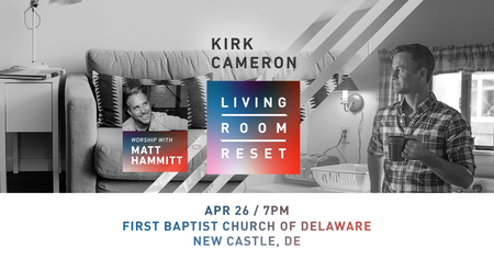 Kirk Cameron Live in New Castle, New Castle, Delaware, United States