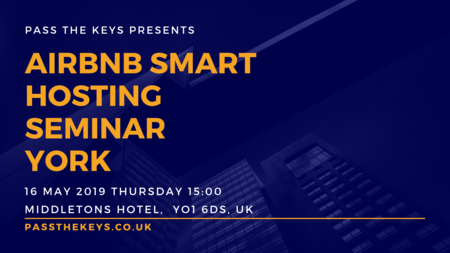 Airbnb Smart Hosting Seminar - York, York, United Kingdom