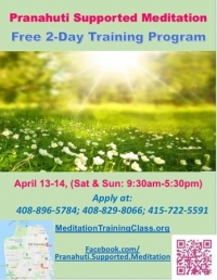 Free 2 day Meditation Training Program (Pranahuti Supported Meditation)