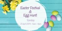 Easter Festival and Egg-citing Hunt!