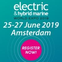 Electric and Hybrid Marine World Expo 2019, Amsterdam RAI, The Netherlands