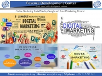 Online Marketing Social Media, Google and Email Marketing Course